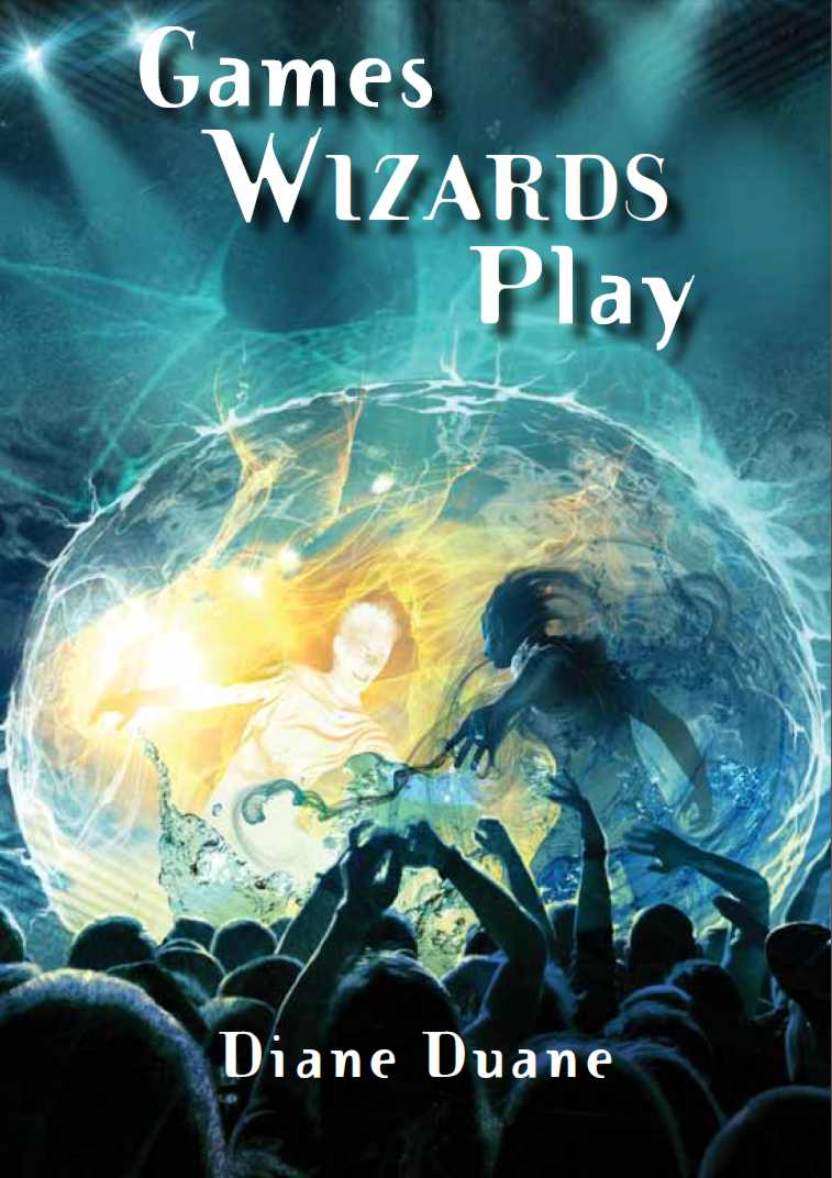 'Games Wizards Play' cover by Cliff Nielsen